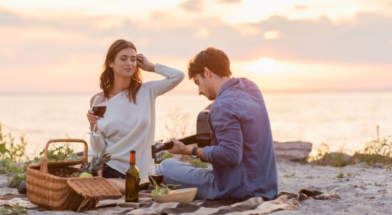 beaches in naples make the perfect date arrangement